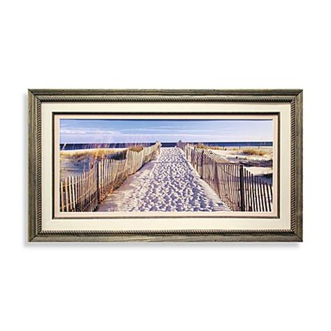 bed bath and beyond wall decor path to beach wall art bed bath beyond