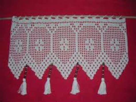 cenefas crochet cortina o cenefa a crochet a pedido 25 000 en mercado