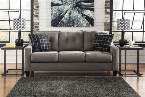 ashley brindon sofa review brindon charcoal sofa from ashley 5390138 coleman