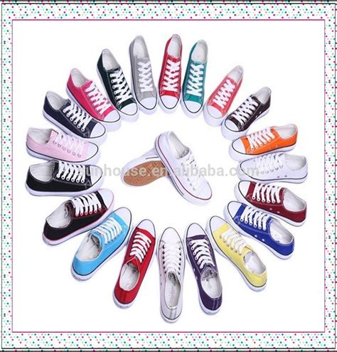 Colourful Unisex 2015 cheap price colourful unisex brand name canvas shoes