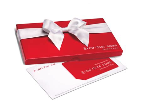 Red Door Spa Gift Card - last minute gift guides luxury beauty home sweet home fashion style beauty