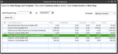 Quickbooks Expense Report Template Quickbooks For Firms Time Expenses And Invoicing