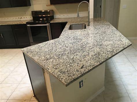 santa cecilia light granite countertops installation kitchen