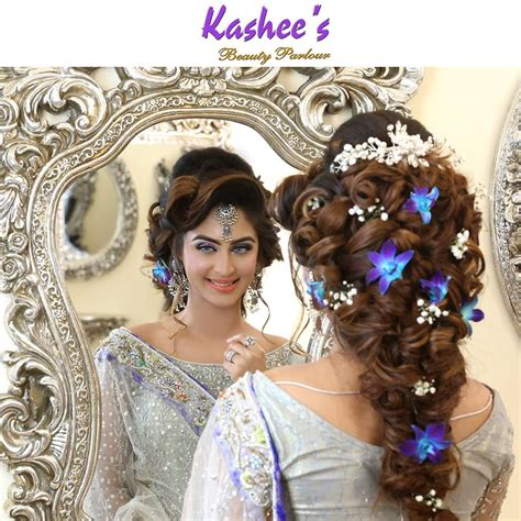 hairstyles kashees kashees beautiful bridal hairstyle makeup beauty parlour