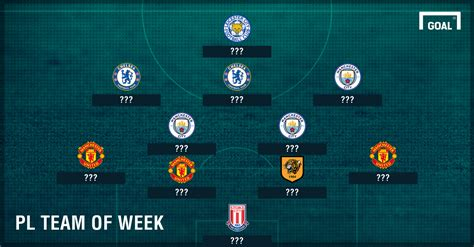 epl next week premier league team of the week goal com