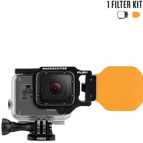 Filter Gopro flip5 one filter kit with dive filter for gopro 5 4 3
