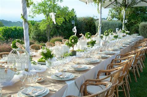 tavoli allestiti per matrimoni sette idee originali per un matrimonio alternativo