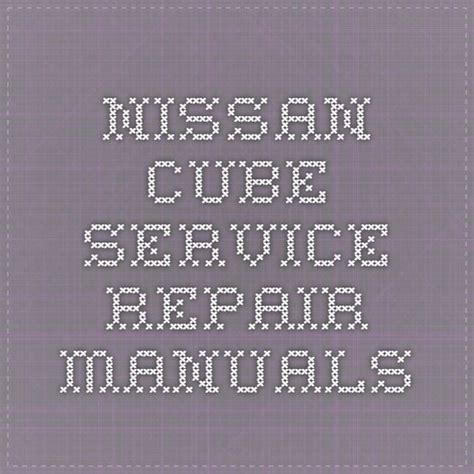 17 best images about nissan service repair manual pdf on