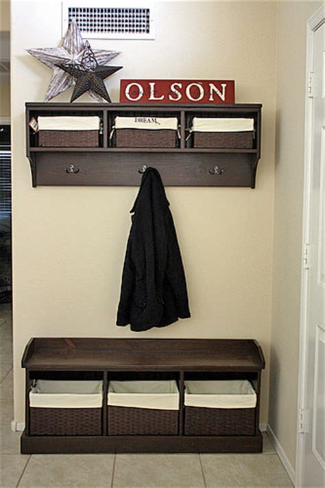 amazing world  awesome diy entryway bench projects