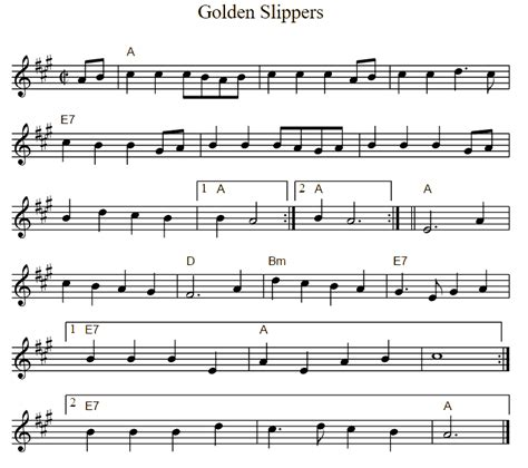 song golden slippers golden slippers dem golden slippers atlantic
