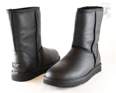 ugg australia classic leather boot 1003944 black