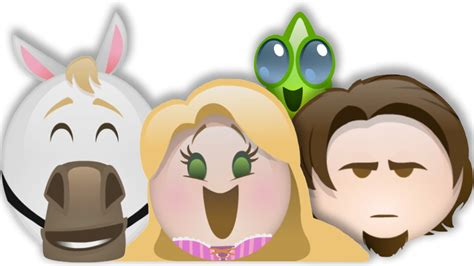 disney film in emoji if tangled were a disney emoji movie disney every day