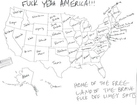 Drawing 50 States by Us Map States Labeled Black And White Free Printable Of