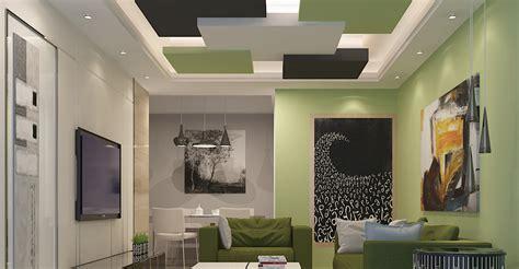 Living room False Ceiling Gypsum Board Drywall Plaster ? Saint Gobain Gyproc India