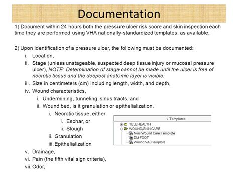 Pressure Ulcer Documentation Pictures To Pin On Pinterest Pinsdaddy Wound Care Documentation Template