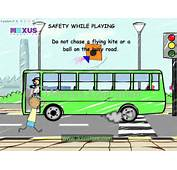 Safety Rules On Road In Bus School And While Playing  YouTube