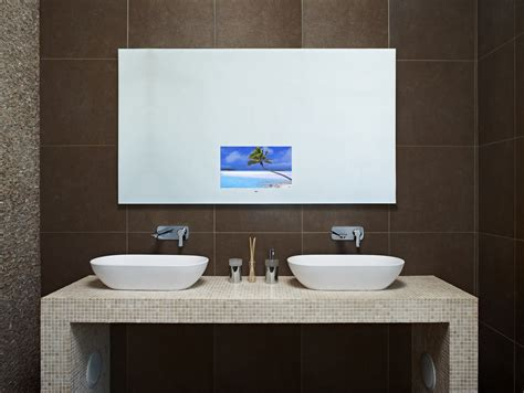 tv in bathroom mirror cost blog about techvision s bespoke tv range