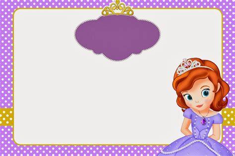 Princesa Sof 237 A Imprimibles Y Tarjetas O Invitaciones