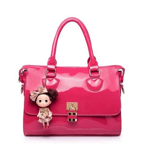 Barbies Bag patent leather handbag