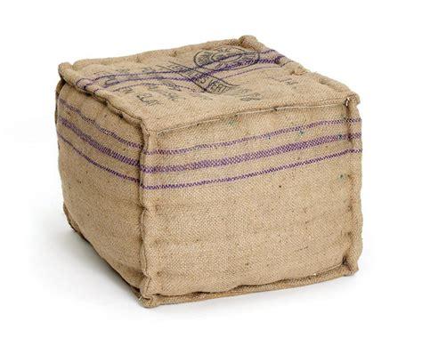 printed ottoman vintage farmhouse burlap printed cube ottoman kathy kuo home