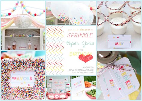 themes baby love sprinkled with love printable ensemble for a birthday party