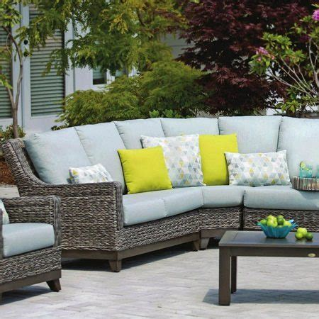 wicker seating patio furniture wicker land patio boston seating all weather resin