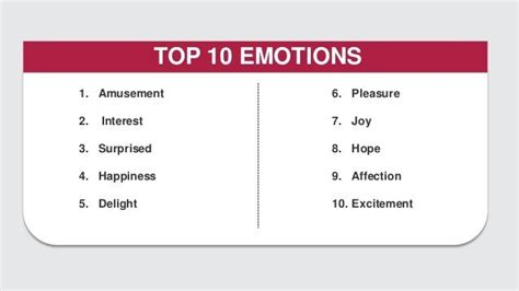 i like this particular chart of the emotional physical the science of emotion in marketing how we decide what to