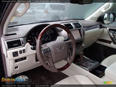 2010 lexus gx 460 interior sepia interior 2010 lexus gx 460 photo 9 dealerrevs com