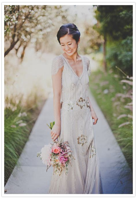 vintage wedding dresses in southern california modern vintage california wedding eunice dan real