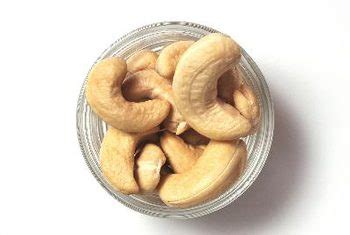 healthy fats cashews nutrient composition in cashews healthy sf gate