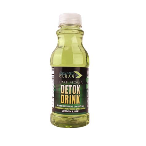 What Is A Detox Drink by Rapid Clear Lemon Lime Detox Drink