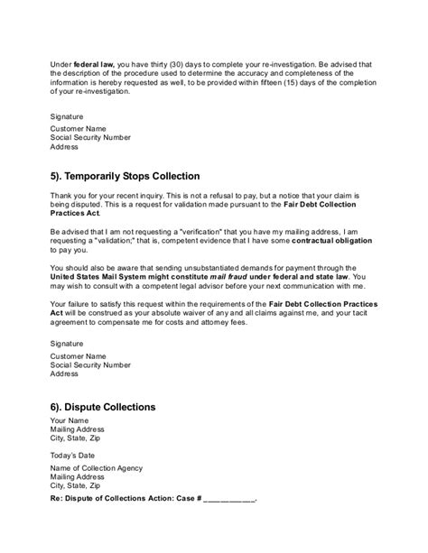Collection Dispute Letter Credit Dispute Letter Letters Free Sle Letters Intended Dispute Free Sle Credit Repair Letters And Templates