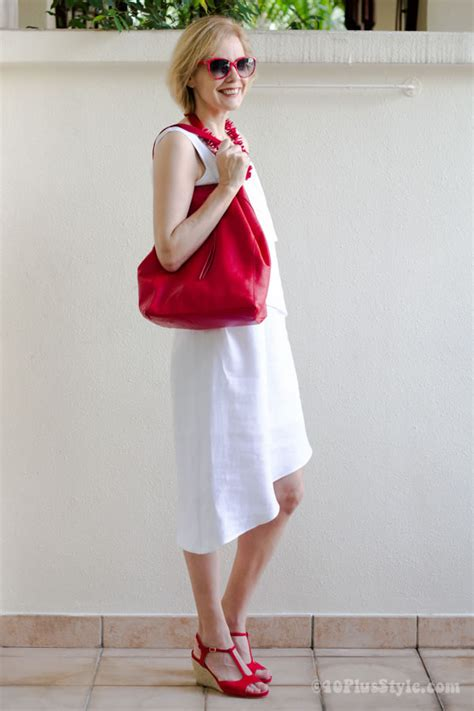 what looks good with red how to wear red over 40 40plusstyle com