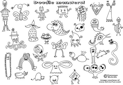 doodle how to use easy doodles doodle monsters html bebo pandco