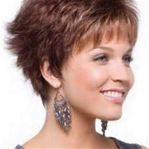 short hairstyles for thick hair over 40 short layered haircuts for women over 40 with thick hair