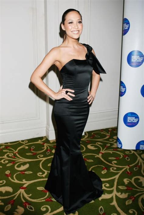 Carpet Myleene Klass At Mayfair Personality Of The Year Event by Myleene Klass Picture 12069