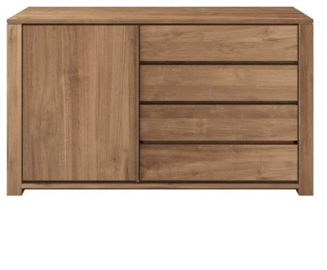 sideboards and buffets contemporary ethnicraft teak lodge 1 door sideboard contemporary