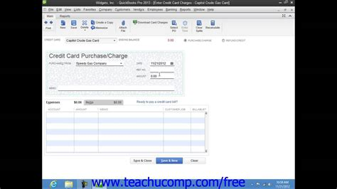 quickbooks tutorial on youtube quickbooks pro 2013 tutorial entering charges on credit