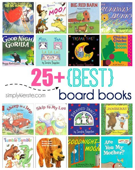 infant picture books 25 best board books simplykierste