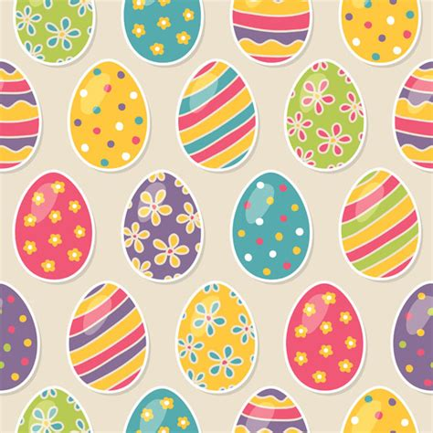 easter pattern background happy easter 2013 eggs bunnies basket pictures images