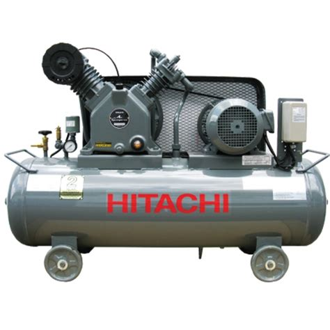 hitachi bebicon 5hp 125l lubricated air compressor my power tools