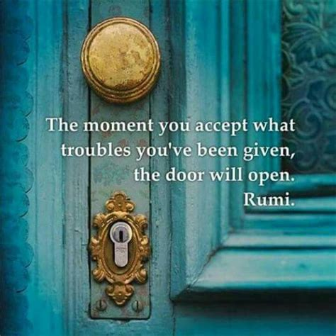 Open The Door Poem by 25 Best Ideas About Rumi Quotes On Typed