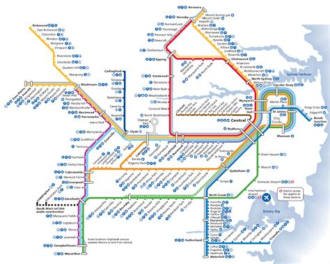 Sydney Search Sydney Rail Transport Map Transport Sydney Highlands And Maps