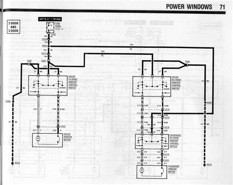 94 mustang power window wiring diagram wiring diagram manual