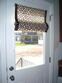 How To Cover A Glass Front Door Door Window Covering On Door Window Treatments Window Security And Large Window