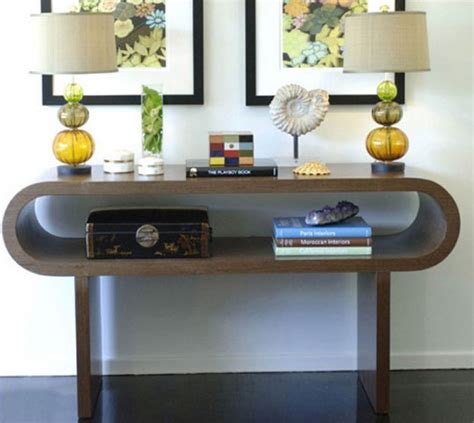 Decorating A Console Table Decorating With Console Tables Shelterness