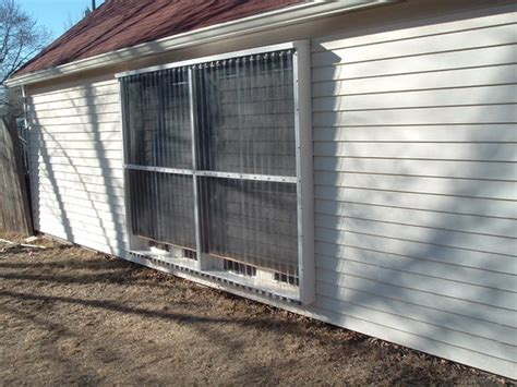 Solar Garage by Diy Solar Air Convection Heater For A Garage