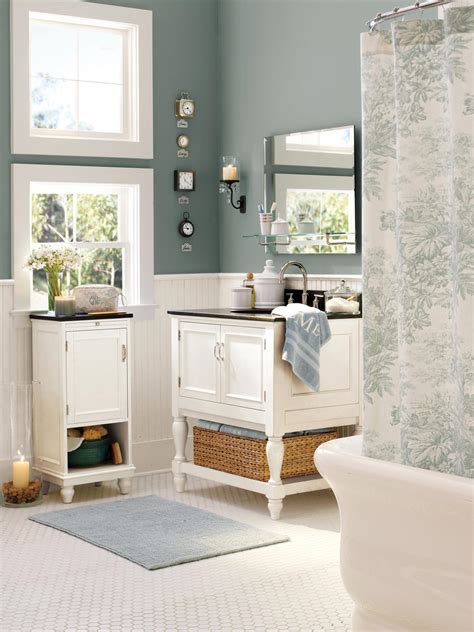 pottery barn bathrooms pictures photos hgtv