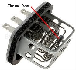 blower resistor thermal fuse blower motor issues jeep forum