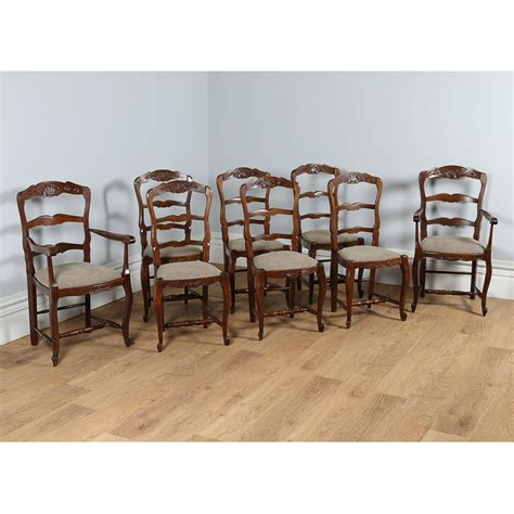 Set Of 8 Dining Chairs Set Of 8 Oak Dining Chairs Chairs Seating